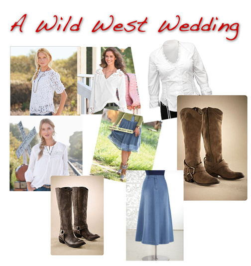 What To Wear To A Western-themed Wedding