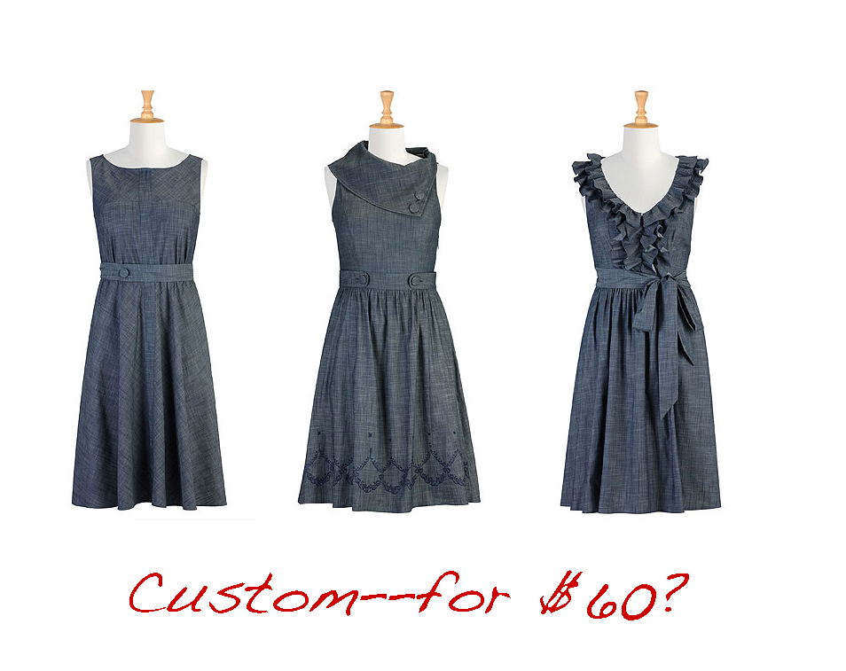 option 4 collage of chambray
