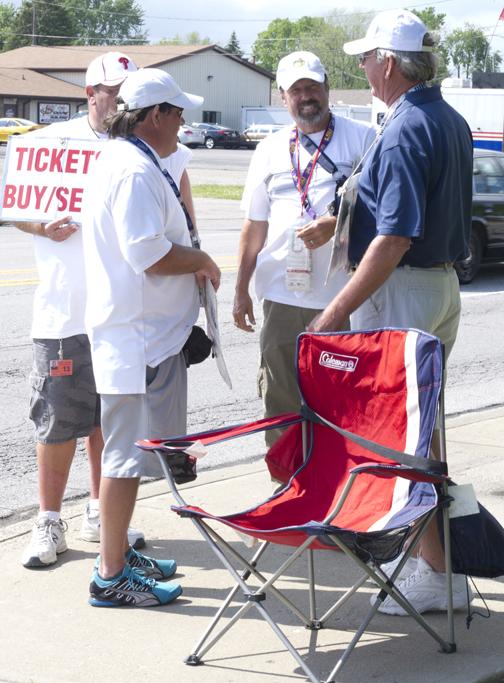 Ticket sales scalpers