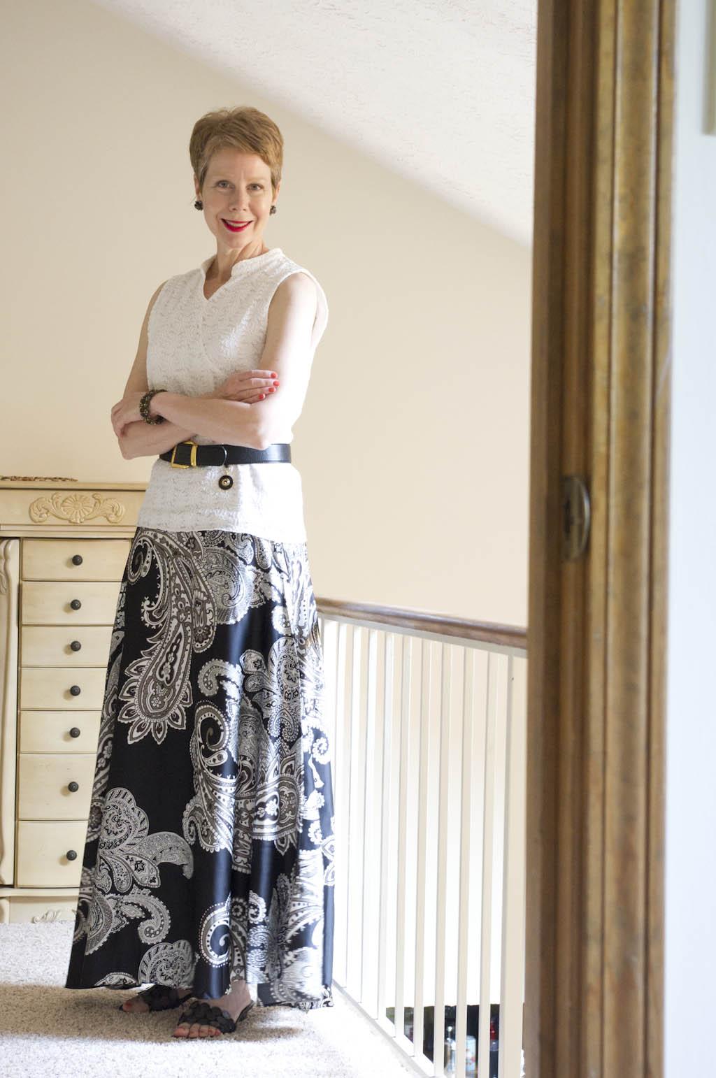 Soft Surroundings black skirt