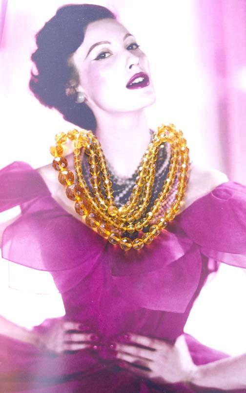 1950s beads