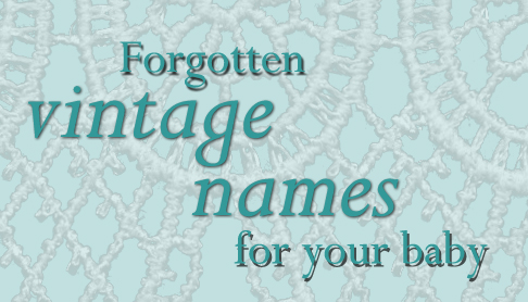 Uncommon old fashioned names 42