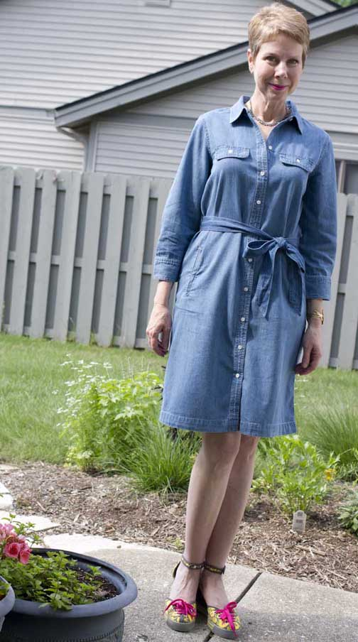 denim dress 2