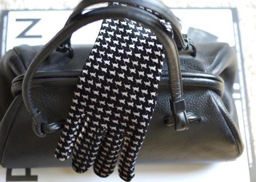 vintage handbag and gloves copy