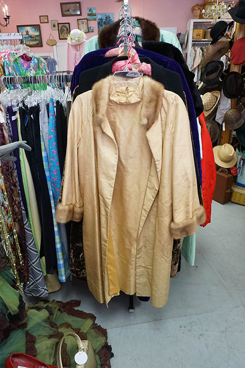 mink coat trim