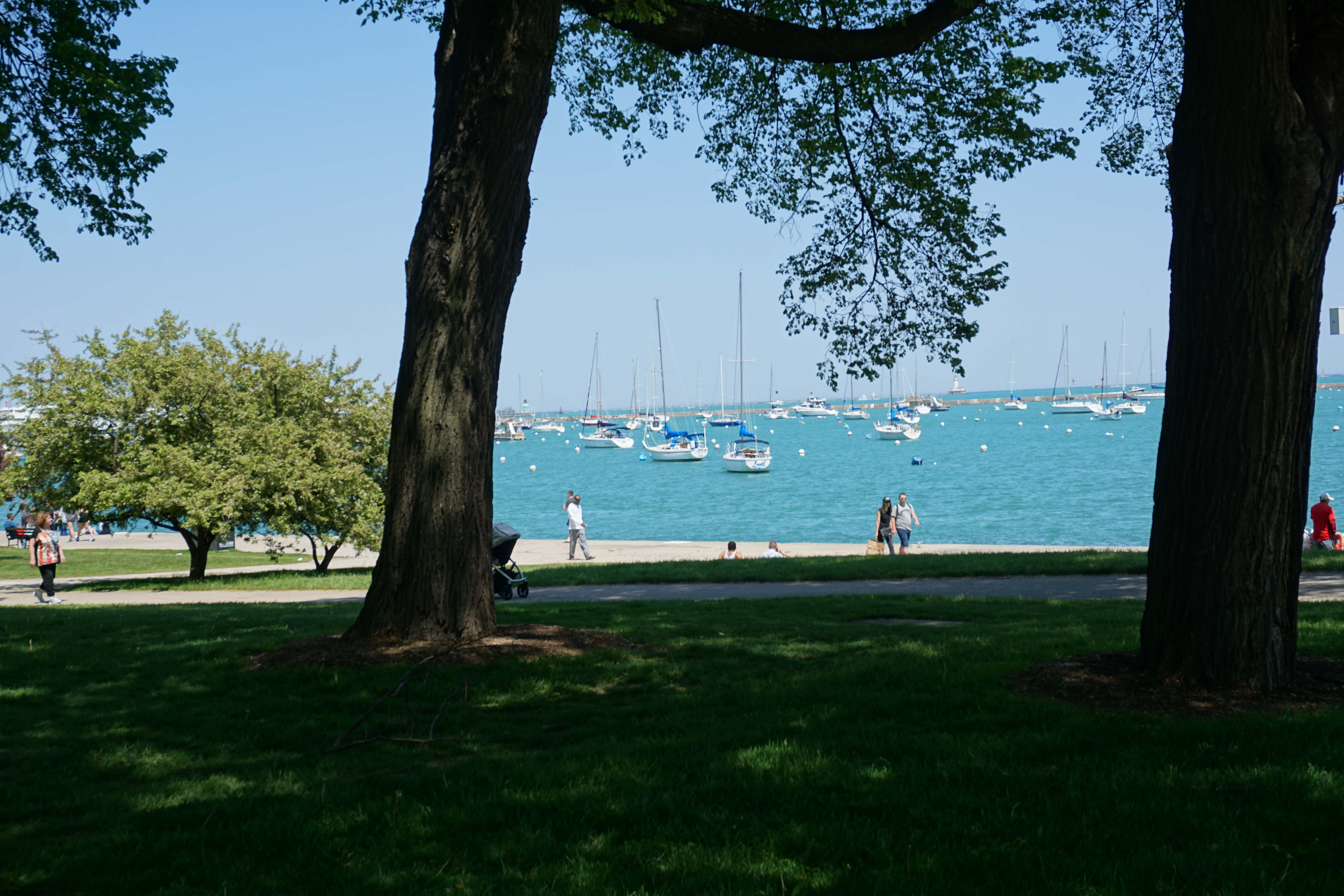 Lakefront walk