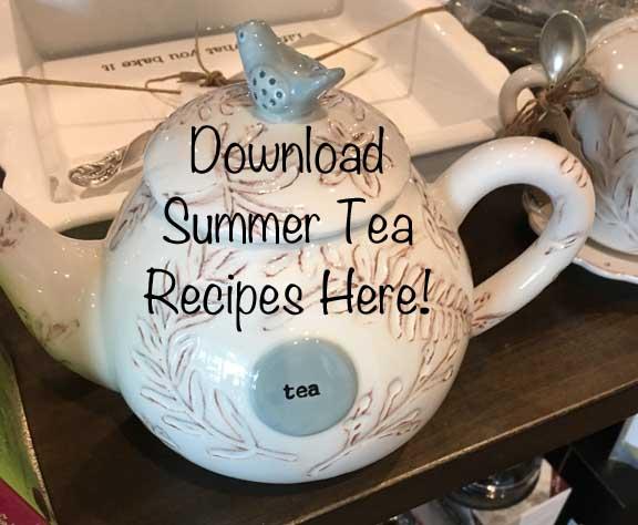 Summer Tea Recipes